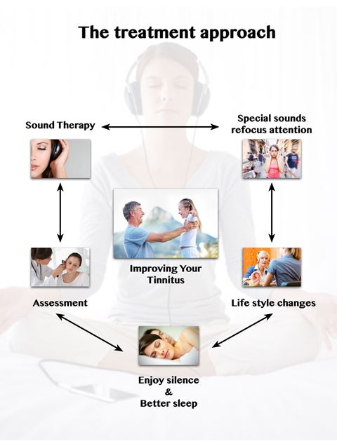 Tinnitus treatment approach